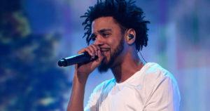 J Cole en concert
