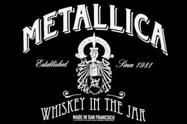 Metallica trempé dans le Whisky