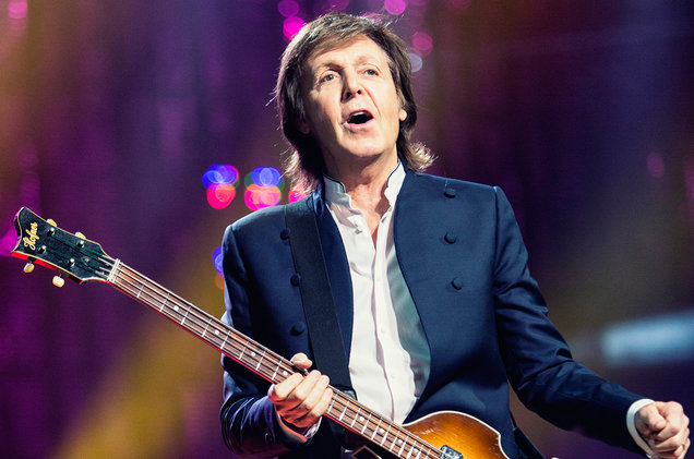 Paul McCartney, lors de l'enregistrement d'Egypt Station