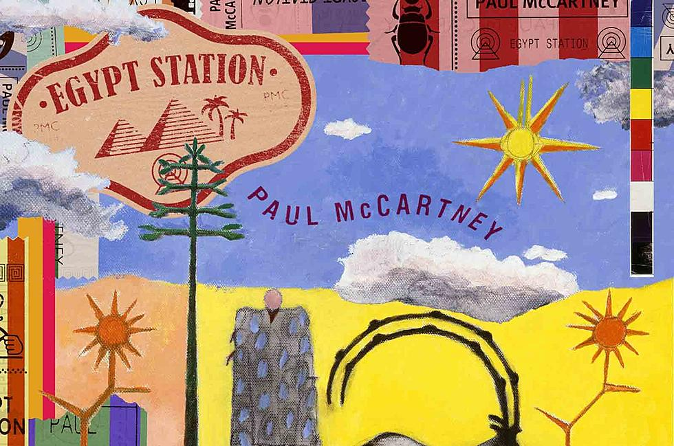 Paul McCartney, Egypt Station, Couverture Album