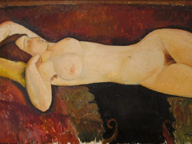 Le Grand Nu d'Amedeo Modigliani