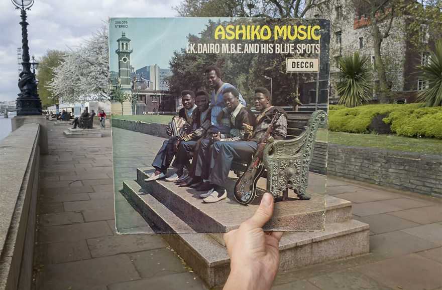 I.K. Dairo M.B.E. And His Blue Spots ‎– Ashiko Music 70s NIGERIAN Juju African Folk Highlife Album