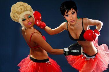 Combat de boxe entre Nicki Minaj et Cardi B