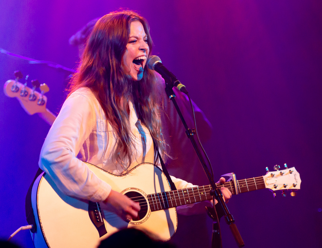 Jade Bird en concert à Los Angeles en 2018
