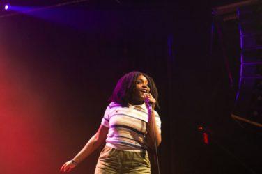 Noname en concert à Toronto en 2017