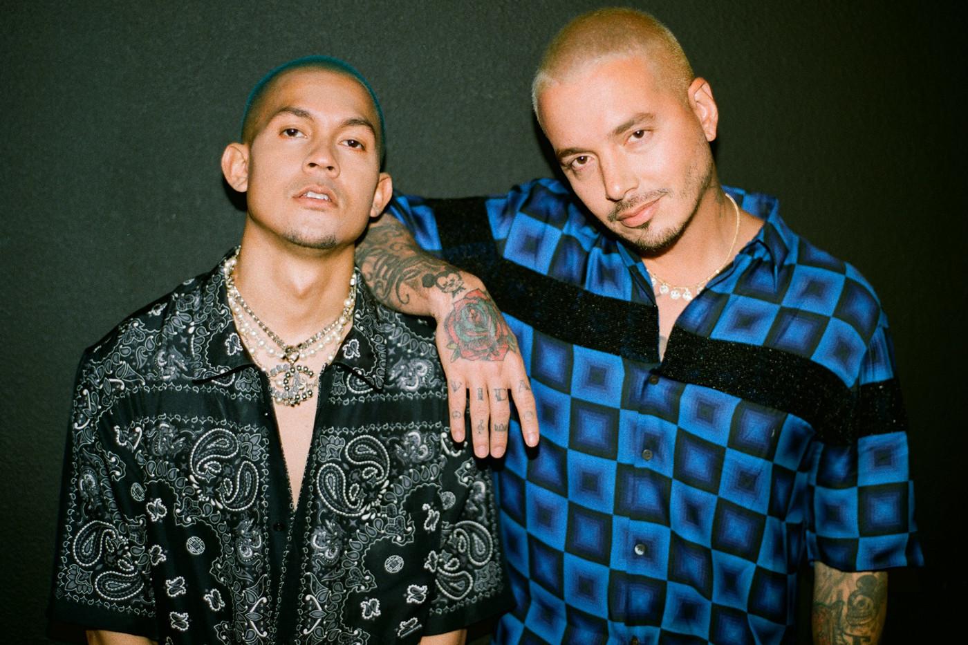 Tainy et J Balvin (Photo Rolling Stone)