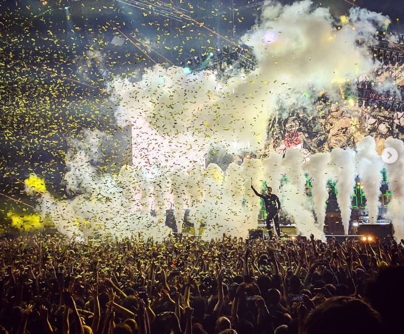 Twenty One Pilots en concert à Paris 2019 Instagram erwamartin
