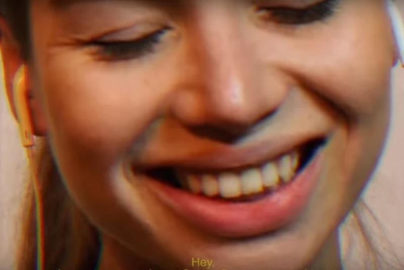Daria Neverova dans le clip Rollercoaster des Y-Bros