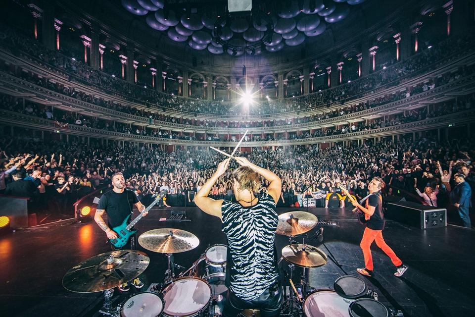 Muse en concert en 2019