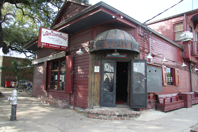 Bar Le Bon Temps Roule à la Nouvelle Orléans (Louisiane, USA)