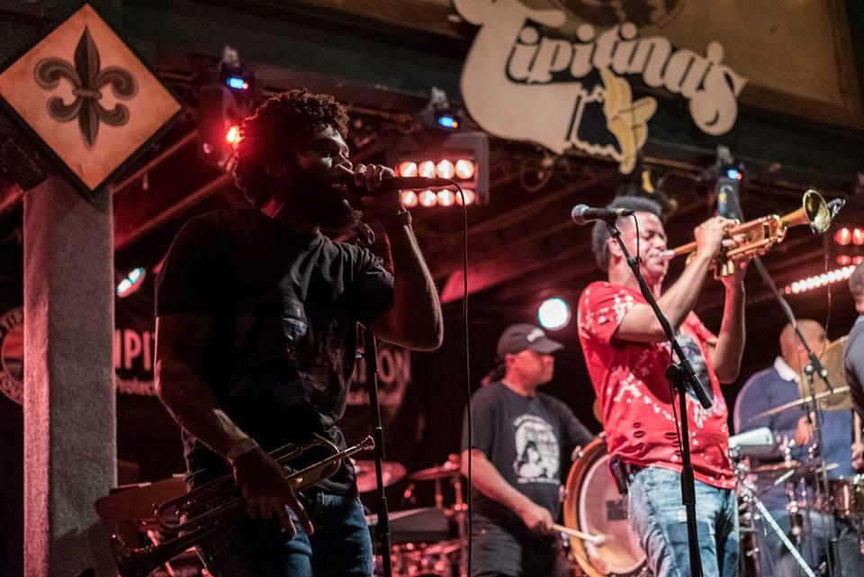 The Soul Rebels en concert au Tipitina's