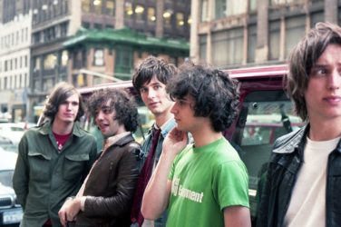 The Strokes en 2001 à New York