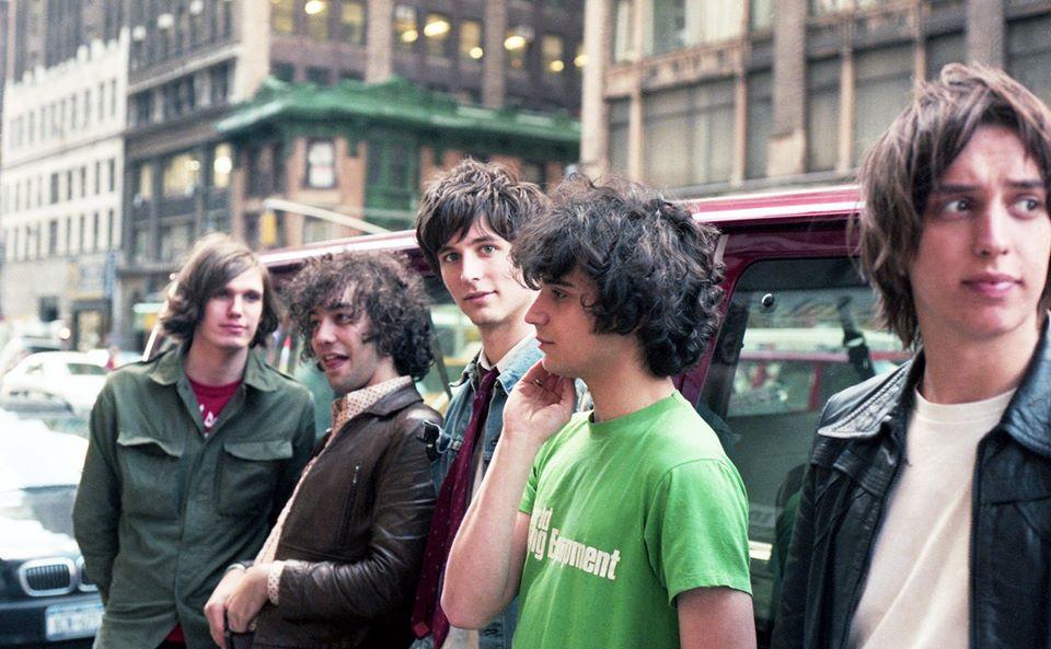 The Strokes en 2001 à New York