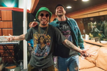 Anderson .Paak (à gauche) et Justin Timberlake