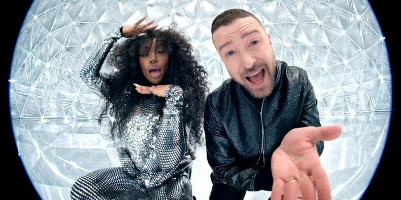 SZA et Justin Timberlake
