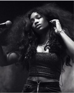 La chanteuse R&B SZA