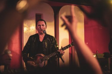 Matthew Bellamy (Muse) avec The Jaded Hearts Club