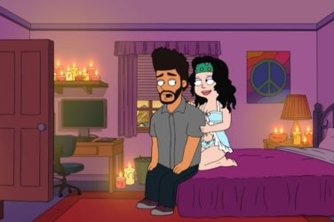 The Weeknd dans American Dad!