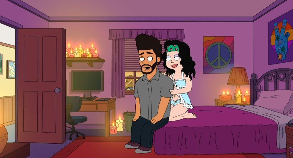 The Weeknd dans American Dad!